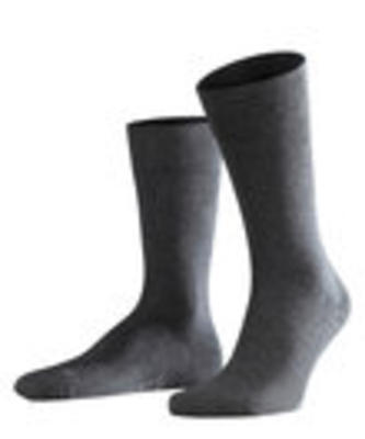 Falke Sensitive London Men's Short Sock Anthracite Melange